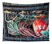 Buoy And Ropes Tapestry