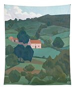 Burford Farm, Devon, 1918 Tapestry