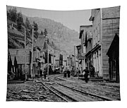 Burke Idaho Ghost Town In Its Prime Tapestry