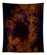 Burning Flower Tapestry