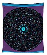 Burnout Velvet Mandala Tapestry by Joy McKenzie