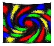 Burst Of Color Tapestry