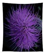 Burst Of Violet Tapestry