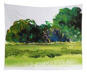 Bushes - English Devon Countryside Tapestry