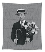 Buster Keaton Tapestry