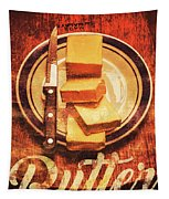 Butter Since Sliced Bread Display Tapestry