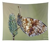 Butterfly - Meadow Satyrid Tapestry