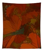 Butterfly Abstract Tapestry