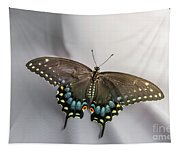 Butterfly At Picnic Tapestry