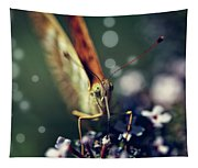 Butterfly Close Up Tapestry