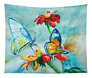 Butterfly Dance Tapestry