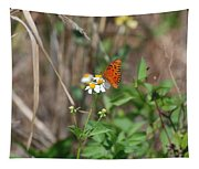 Butterfly Flower Tapestry