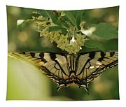Butterfly From Another Side Tapestry
