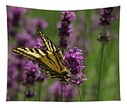 Butterfly In Lavender Tapestry