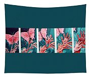 Butterfly Metamorphis Tapestry