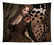 Butterfly Princess Of The Forest 2 Tapestry