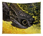 Butterfly Reflections Tapestry
