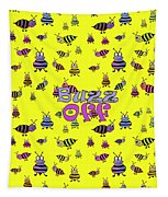 Buzz Off  - Typography Tapestry