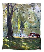 By The Lake  Tapestry