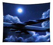 By The Light Of The Blue Moon Tapestry