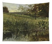 By The Riverbank, 1869 Tapestry