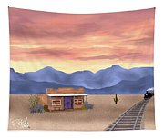 By The Tracks Tapestry