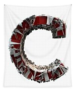 C Is For Cookie Tapestry by Gary Keesler
