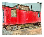 Caboose Tapestry
