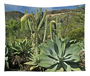 Cacti Of Koko Crater Tapestry