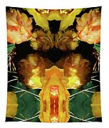 Cactus Flower 08-005 Abstract Tapestry