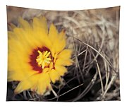 Cactus Flower Tapestry
