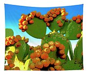 Cactus Pears Tapestry