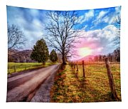 Cades Country Lane Tapestry