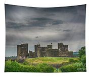Caerphilly Castle East View 3 Tapestry