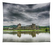 Caerphilly Castle North View 1 Tapestry