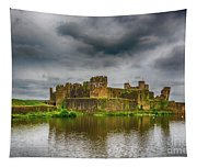 Caerphilly Castle South East View 1 Tapestry