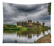 Caerphilly Castle South East View 2 Tapestry