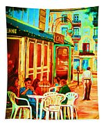 Cafe Vienne Tapestry