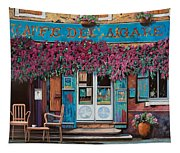 caffe del Aigare Tapestry