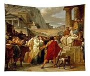 Caius Furius Cressinus Accused Of Sorcery Tapestry
