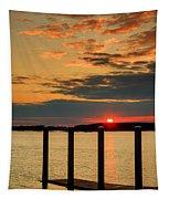 Calibogue Sound Sunset Tapestry