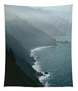 California Coastline Tapestry