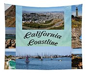 California Collage Tapestry