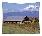 California Hay Barn Tapestry