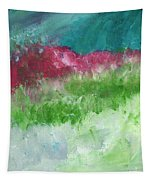 California Landscape- Expressionist Art By Linda Woods Tapestry