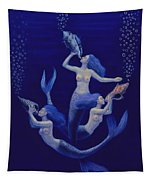 Call Of The Mermaids Tapestry