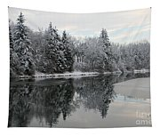Calm And Frosty Tapestry