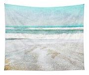 Calm Coast- Art By Linda Woods Tapestry