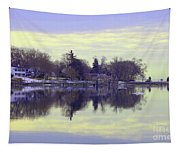 Calming Lavendar Scene Tapestry