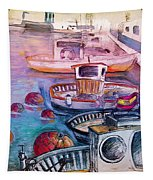 Calpe Harbour 03 Tapestry